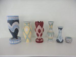 Echantillon de vases