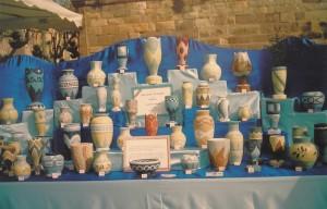 Mon stand à une exposition d'artisans d'Art à Frèjus