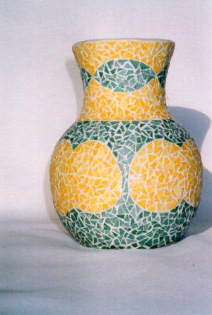 vase en Mosaïque N° 56